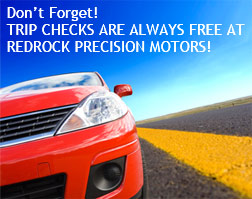Trip Checks are free at Sedona's Redrock Precision Motors!